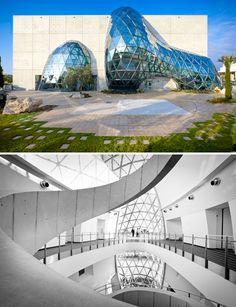 The Salvador Dali Museum, St. Petersburg, FL. Designed by HOK. Photos by Morris Moreno