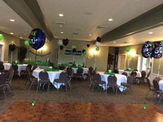 Lots of room for a small party up to 175 comfortably