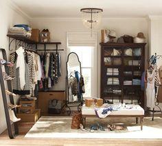 Closet and shoe organizing!