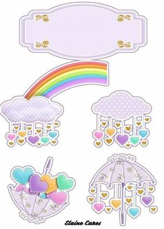 Unicorn Printables, Free Printables, Unisex Baby Shower, Diy And Crafts, Paper Crafts, Mermaid Cakes, Blogger Templates, Unicorn Birthday, Cupcake Toppers