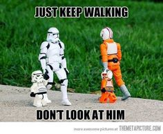 Star Wars humor.