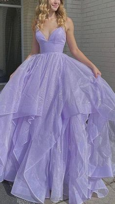 Lilac Prom Dresses, Stunning Prom Dresses, Pretty Prom Dresses, Quince Dresses, Ball Gown Dresses, Formal Evening Dresses, Homecoming Dresses, Beautiful Dresses, Cute Dresses