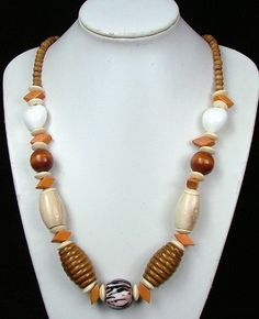 Costume Jewelry Necklaces   wooden necklace wood necklace - Necklaces - Wholesale fashion jewelry ...