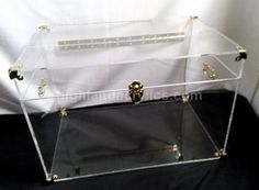 acrylic lucite clear trunk coffee table chesthighlandacrylics