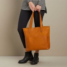 Our Lifetime Leather Tote is made of beautiful cowhide leather and fully lined. It gets better with age, softening and ripening to a rich color. Hobo Purses, Purses And Bags, Duluth Trading Company, Color Lines, Cowhide Leather, Laptop Sleeves, Going Out, Age, Tote Bag