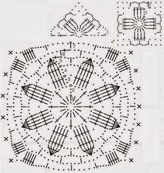 Free crochet patterns and video tutorials: Free crochet pullover sweater pattern symbol diagrams