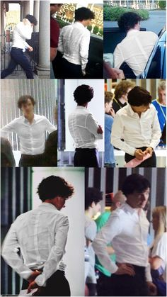 "The enchanted white shirt of sex. It goes places.    The Adventure of  ""Sherlock's White Shirt"" in Setlock."