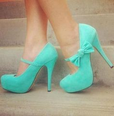 Turquoise Stiletto Heels Platform Mary Jane Pumps Turquoise Stiletto Heels Platform Mary Jane Pumps Cute Almond Toe Platform Heels Pumps With Bow Women's Fashion Shoes For Ladies High Heels Boots, Bow Heels, Cute Heels, Stiletto Heels, Shoe Boots, Shoes Heels, Prom Shoes, Louboutin Shoes, Strappy Shoes