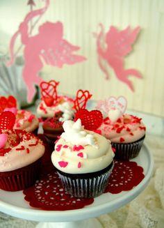 Cupcakes Magnolia Bakery - Valentine's Day ♥