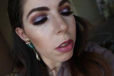 glitter, metallic, purple eye, eye makeup look, full face, luxury, urban decay, morphe, Giorgio Armani, Mac Cosmetics, Anastasia Beverly Hills, House of Lashes, My Youtube Videos