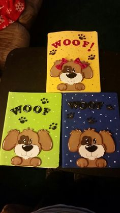 Cuadernos decorado con goma eva