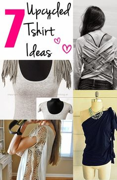 Craft Project Ideas: Top 7 Up-cycled T-shirt ideas