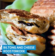 Biltong and cheese roosterkoek Sunday Recipes, My Recipes, Baking Recipes, Favorite Recipes, Bread Recipes, South African Recipes, Ethnic Recipes, Foil Packet Meals, Biltong