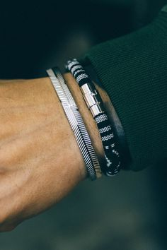 I could rock these bracelets all day, every day.