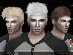 Wavves (Male Hair): Download18 colorsHat supportAll LOD'sTeen through elderHere's a hairstyle based off a friend of mine, hope you like it!________________________________________________Sims 4