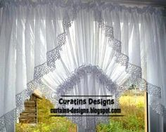 Latest Collection Of Arched Windows Curtain Designs And Arched Windows  Curtain Ideas For Bedroom 2014,