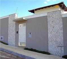 49 modelos de muros e fachadas residenciais