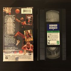 Michael Jordan: Air Time (1993) VHS Back Cover