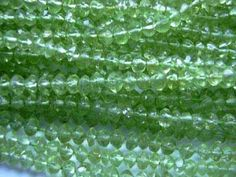 wholesale lot & 20 discount on Peridot Rondelle Bead by 8gemsinc, $105.00