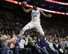 Joel Embiid scores career-high 33 points in win over Nets = The Philadelphia 76ers are currently embroiled in some drama thanks to their logjam in the frontcourt, but Joel Embiid once again made it absolutely clear who the best player in that young frontcourt is in.....