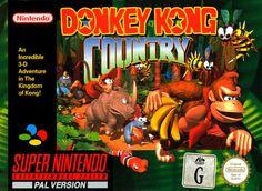 Donkey Kong Country es un videojuego desarrollado por la compañía Rare y Nintendo, que incluye la descendencia del popular personaje de videojuegos, Donkey Kong. Éste fue lanzado para la videoconsola SNES en 1994. El juego fue lanzado en Japón bajo el título Super Donkey Kong. Fue lanzado simultáneamente en todo el mundo y fue un juego realmente revolucionario por sus excepcionales gráficos en una máquina de tan sólo 16 bits.