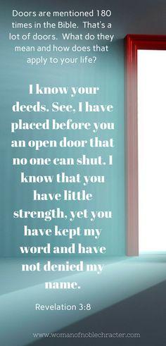 The God of Open Doors