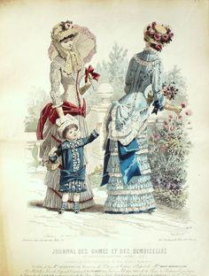 Le Journal des Dames et des Demoiselles 1881