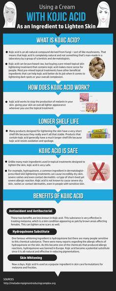 Try using a natural skin lightening cream with Kojic Acid to lighten skin and melasma