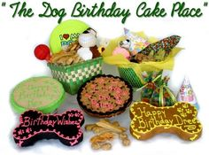Dog Birthday Cakes - Click image to find more Animals Pinterest pins