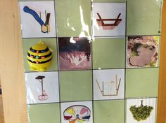 Covering positional language, so we created our own beebot mat. Can you get beebot to the space above to table?