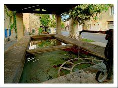Ancien lavoir de Pernes-les-Fontaines through the eyes of Cricri