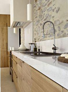 Modern Rustic Kitchen Ideas - http://ideasforho.me/modern-rustic-kitchen-ideas/ - #shabby chic #home decor #design #ideas #wedding #living room #bedroom #bathroom #kithcen #shabby chic furniture