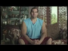 WWE champion the Great Khali for Ambuja Cement - YouTube