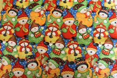 KP Kids Santa Band Christmas Quilt/Craft Fabric 100% Cotton 2yds x 13.5 Remant by QuiltFabricsPlus on Etsy
