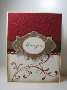 Everything Eleanor Thank You by ladybugg61 - Cards and Paper Crafts at Splitcoaststampers
