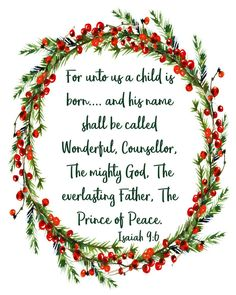 christmas quotes Isaiah For Unto Us a Child is Born Christmas wall art Christmas Wall Art, Christmas Scenes, Christmas Wallpaper, Christmas Posters, Christmas Background, Christmas Bible Verses, Christmas Jesus Quotes, Christmas Messages, Christmas Prayer