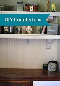 Make your own wood countertops with this DIY tutorial. Your home will feel so special and personal.