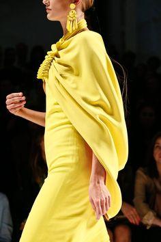 Etro Spring 2013 RTW #yellow #mfw
