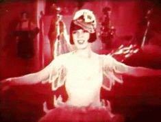 "Flapper kisses from Colleen Moore in the 1926 film ""Irene"" [GIF]"