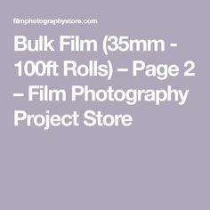 Bulk Film - Rolls) – Page 2 – Film Photography Project Store Film Photography Project, 8mm Film, Rolls, Store, Buns, Larger, Bread Rolls, Shop