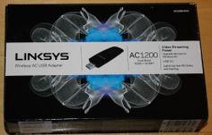 Linksys Wireless-AC USB Adapter WUSB6300 -- Netzwerkadapter AC1200