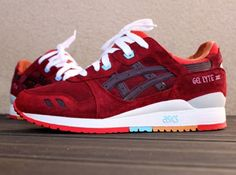 "Asics Gel Lyte III ""Patta x Parra"" Customs"