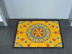 Fußmatte mit orientalischem Muster von Pattern Design.