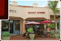 Renaud's Patisserie and Bistro - macarons, hot chocolate with homemade whipped cream, and croissants, oh my! (Santa barbara)