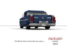 Packard 1953 Clipper Sedan Lego Vehicles