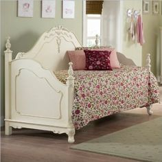 Amazon.com: Homelegance Cinderella Wood Daybed in Ecru Finish: Home & Kitchen
