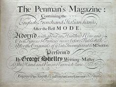 Unrecorded second edition of the Penman's Magazine