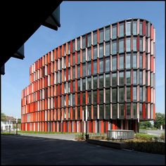 Cologne Oval Offices - Sauerbruch Hutton