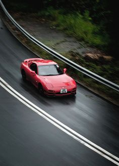 Mazda RX-7 FD. 'A beautifully build pain in the head to own.' #Slammed #Mazda