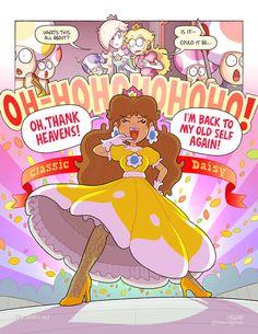 Super Mario Princess, Nintendo Princess, Little Princess, Princess Peach, Luigi And Daisy, Mario And Luigi, Mario Bros, Mario Fan Art, Super Mario Art